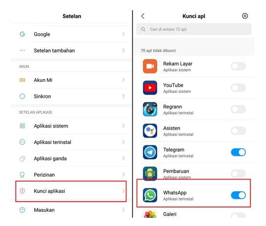cara-mengunci-aplikasi-whatsapp-tanpa-aplikasi-tambahan