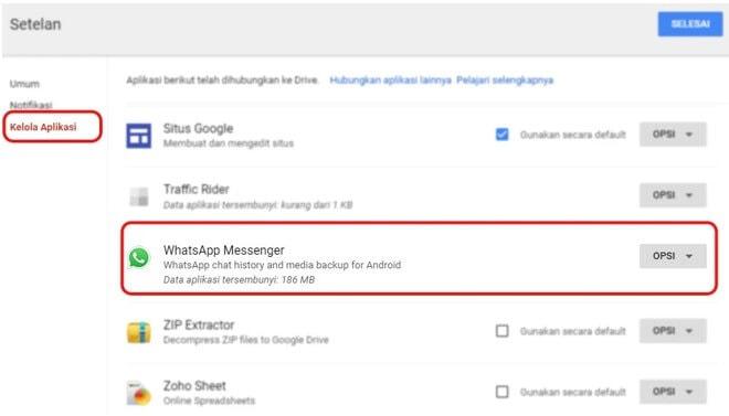 cara-melihat-backup-wa-di-google-drive