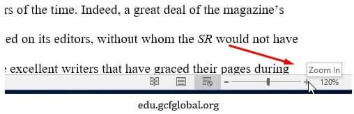 memperbesar dan memperkecil microsoft word