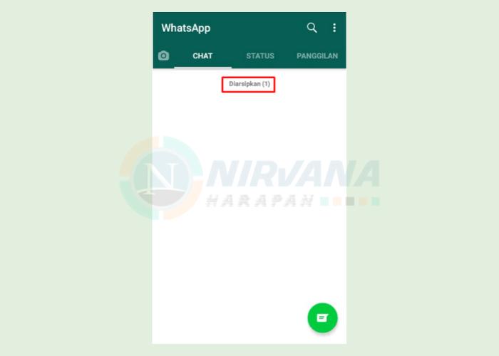 cara menyembunyikan chat whatsapp