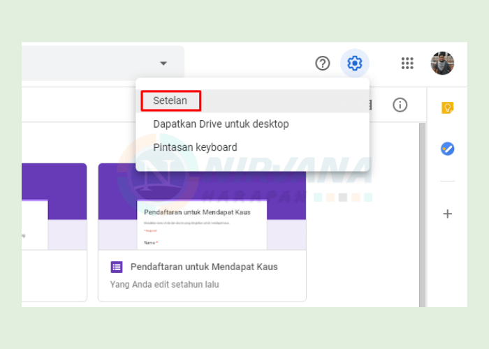 cara melihat cadangan whatsapp di google drive