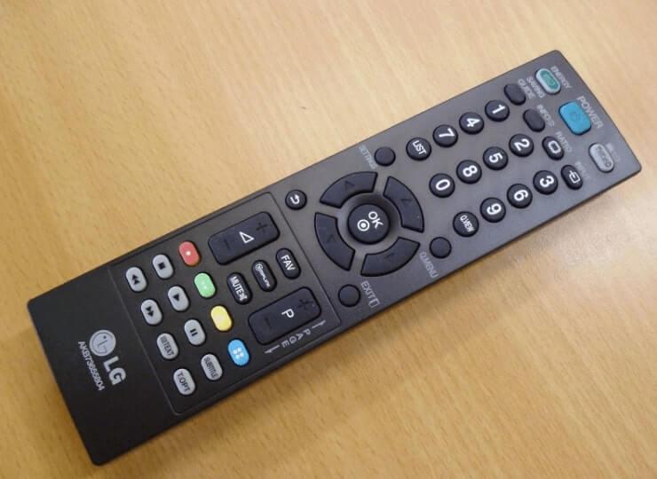 kode remote tv lg tabung