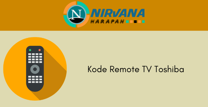 kode remote tv toshiba
