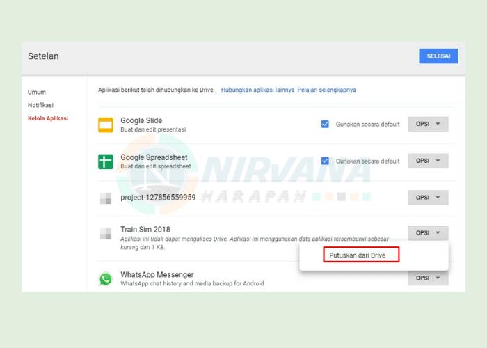 Cara Melihat Cadangan Chat Whatsapp Di Google Drive
