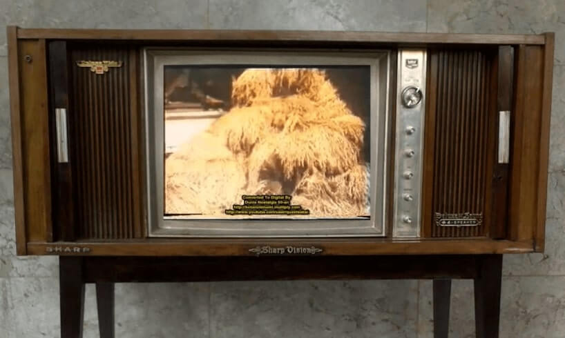 sejarah tv sharp