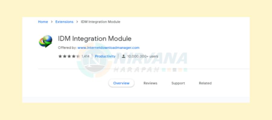 aplikasi idm integration module