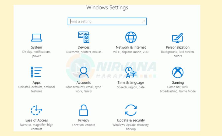 windows settings cara menghilangkan Iklan di chrome